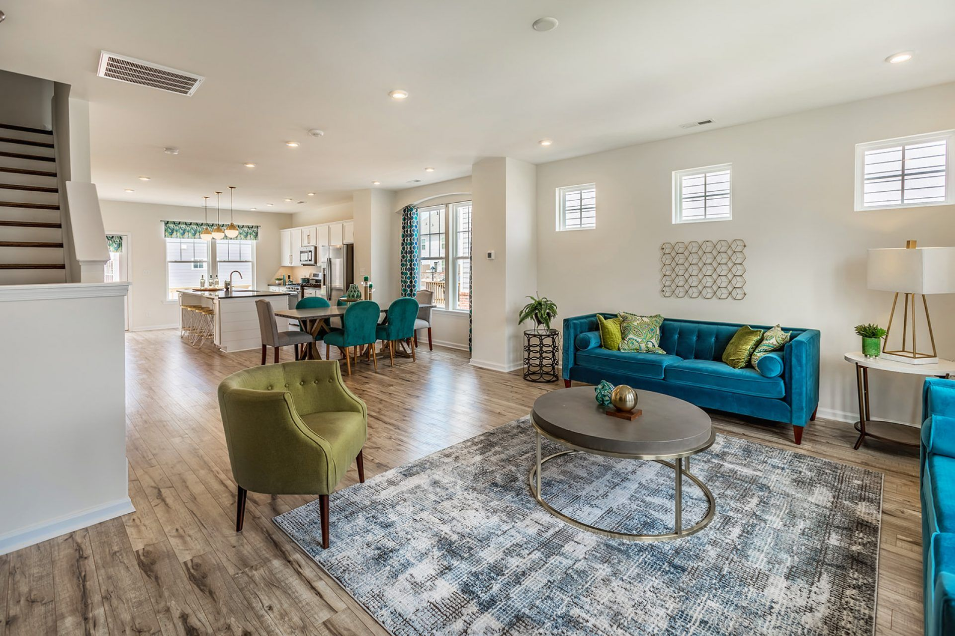 Living Area featured in the Rockford By HHHunt Homes LLC in Norfolk-Newport News, VA