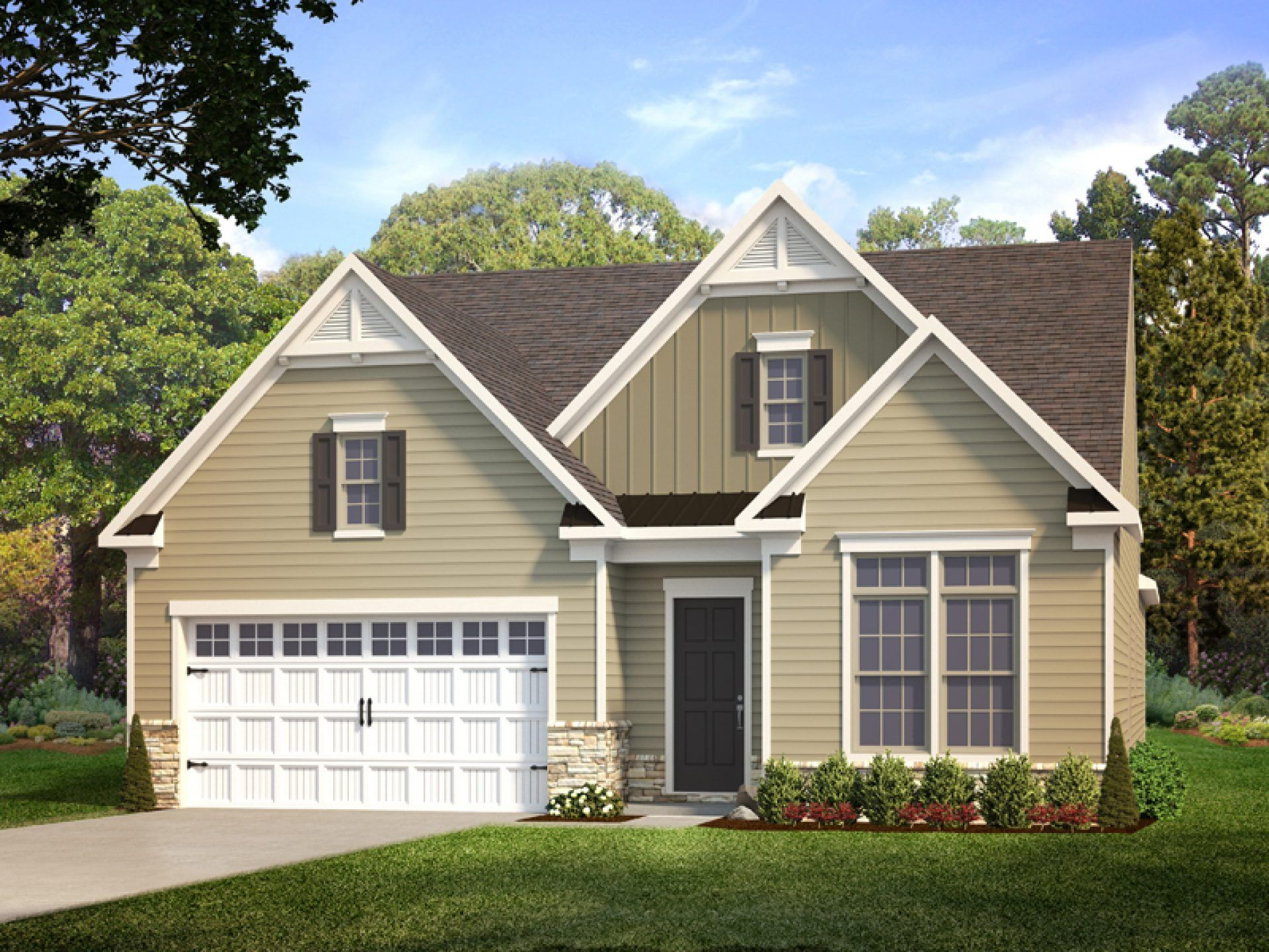 Exterior featured in the Oasis By HHHunt Homes LLC in Richmond-Petersburg, VA