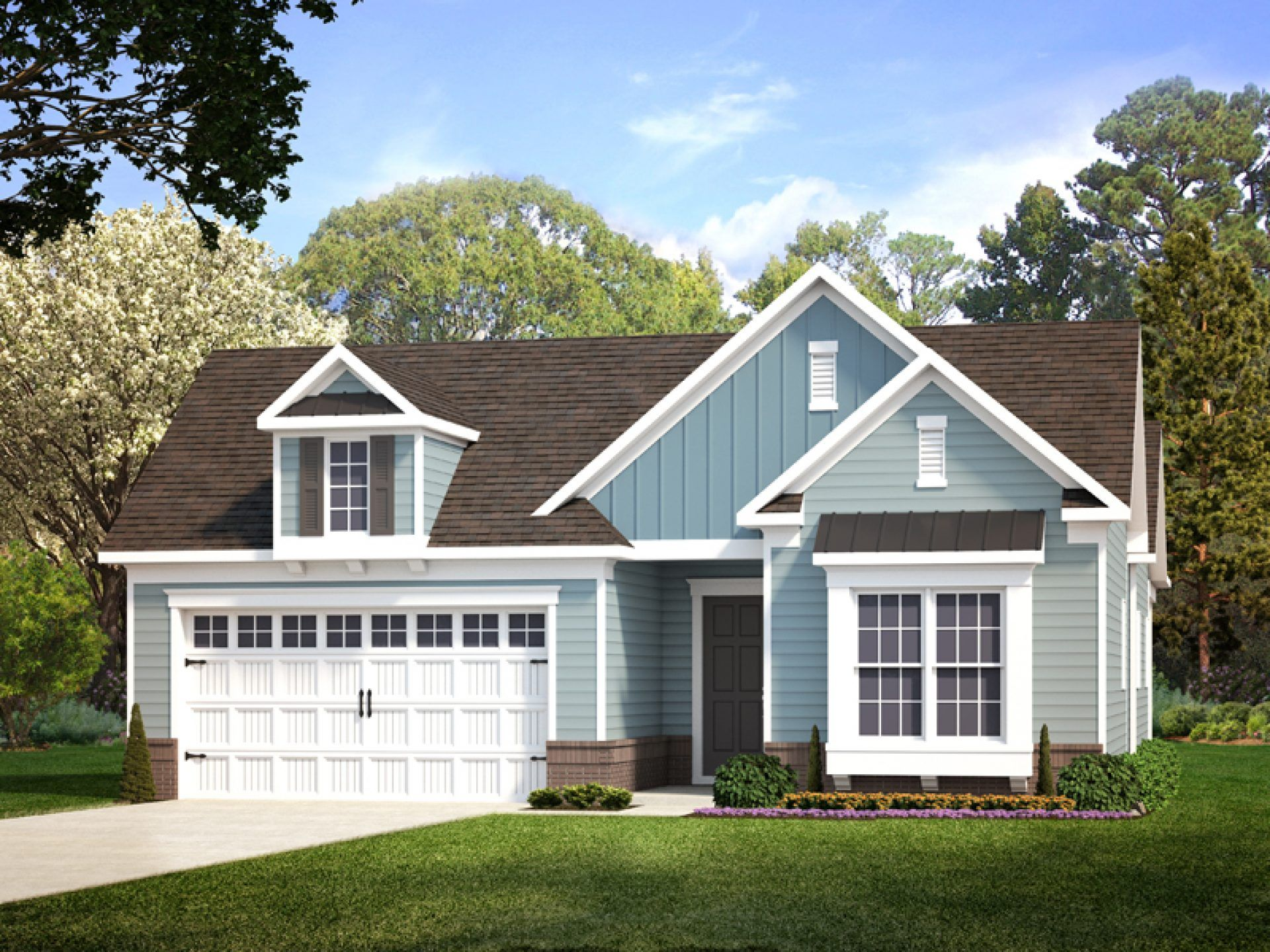 Exterior featured in the Preserve By HHHunt Homes LLC in Richmond-Petersburg, VA