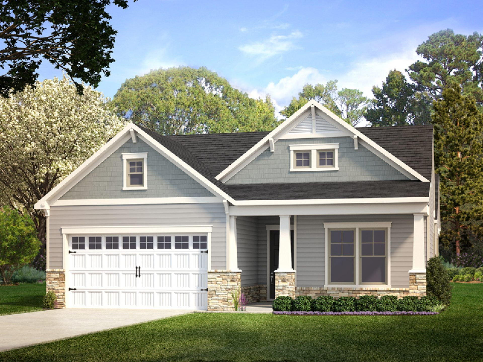 Exterior featured in the Retreat By HHHunt Homes LLC in Richmond-Petersburg, VA