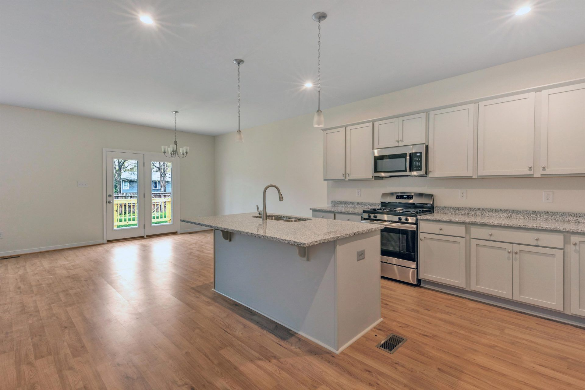 Kitchen featured in the Curie By HHHunt Homes LLC in Richmond-Petersburg, VA