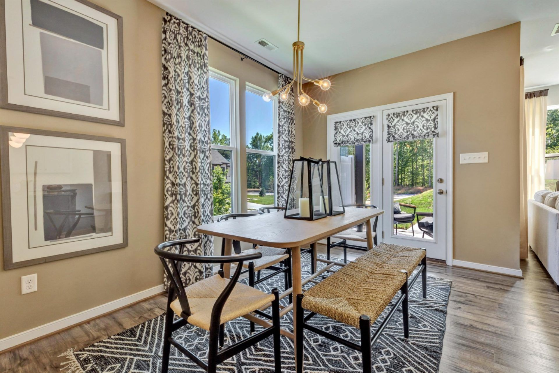 Living Area featured in the Davenport By HHHunt Homes LLC in Richmond-Petersburg, VA