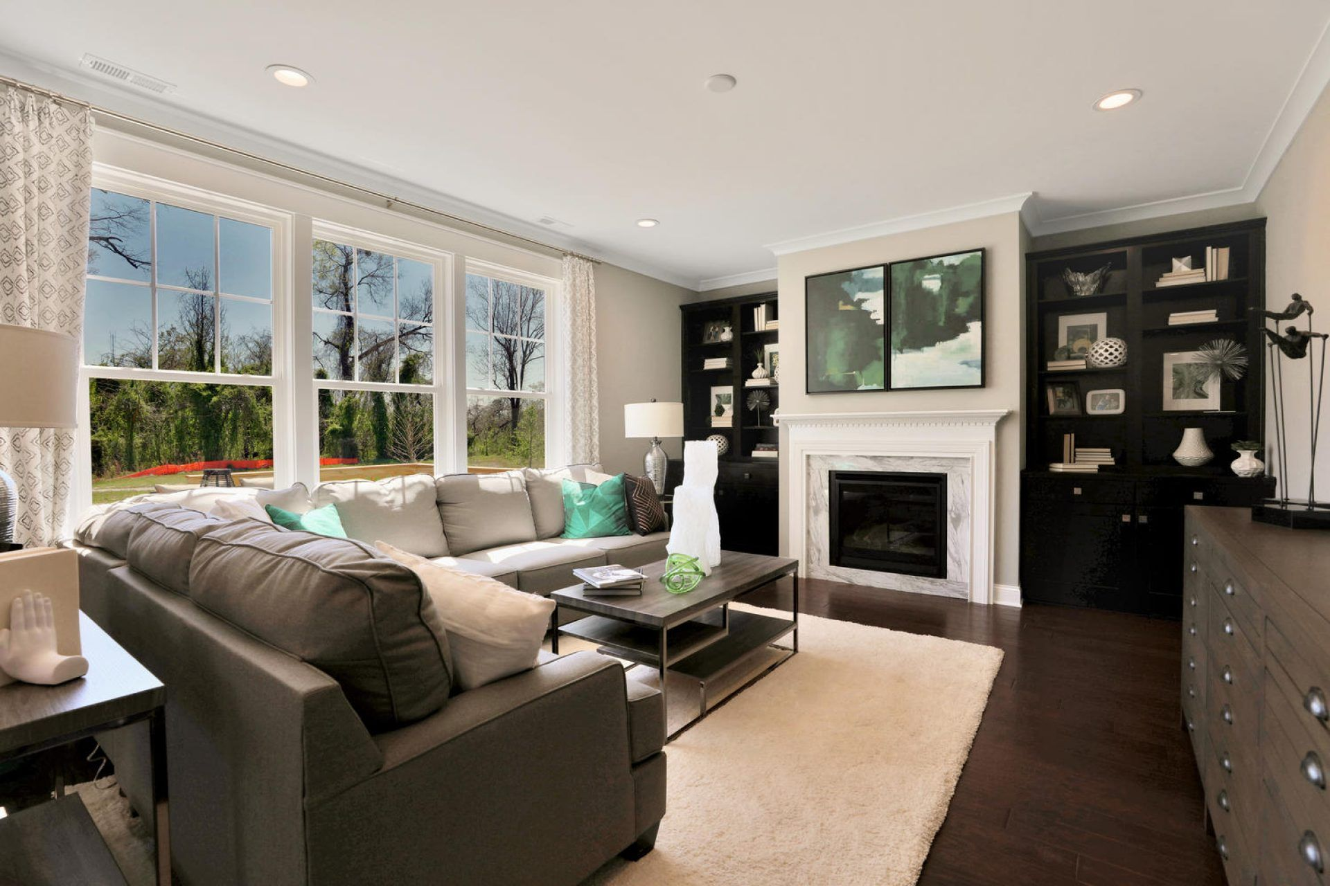 Living Area featured in the Chatham By HHHunt Homes LLC in Richmond-Petersburg, VA