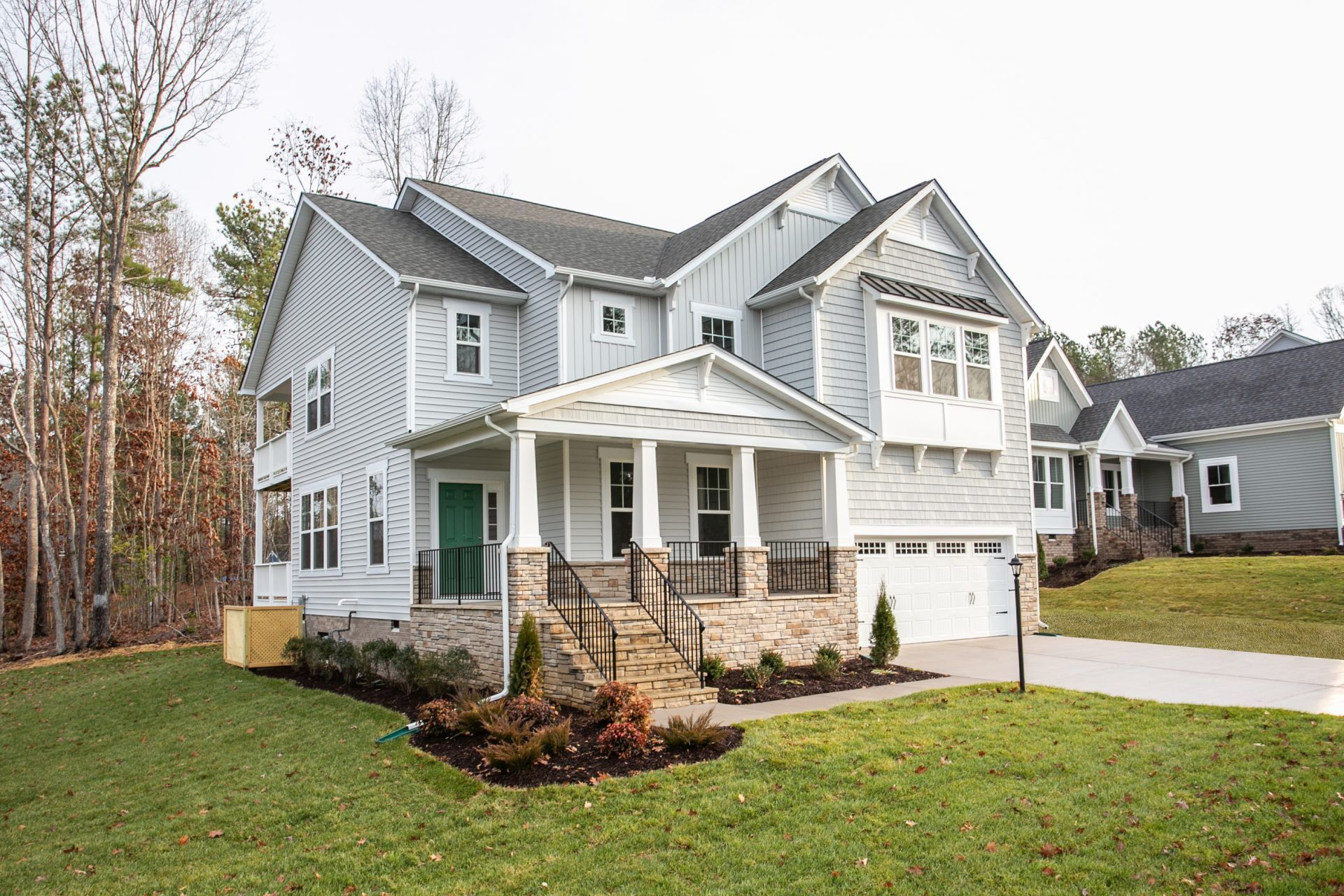 Exterior featured in the Winslow By HHHunt Homes LLC in Richmond-Petersburg, VA