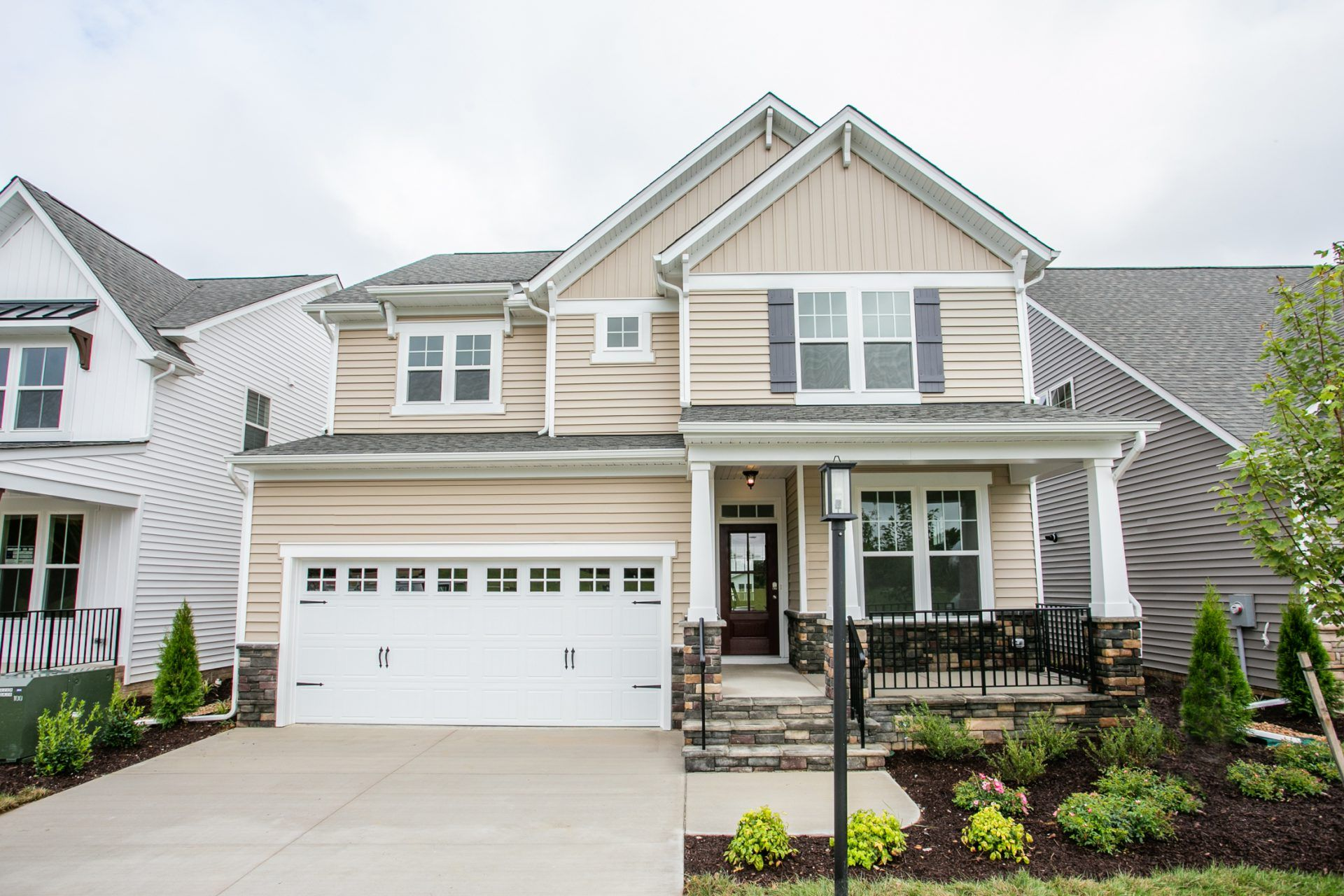 Exterior featured in the Morgan By HHHunt Homes in Richmond-Petersburg, VA