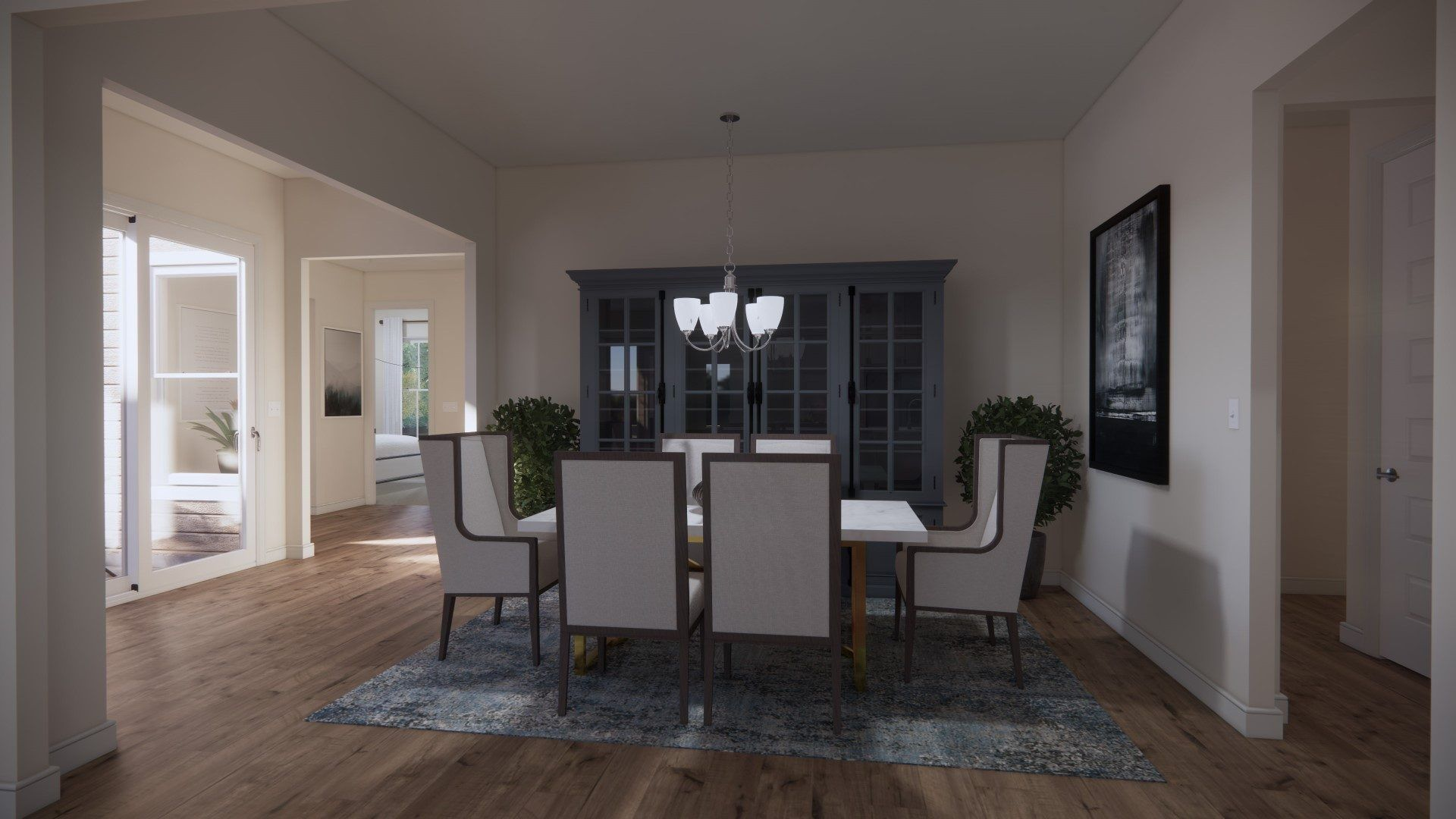 Living Area featured in the Preserve By HHHunt Homes LLC in Richmond-Petersburg, VA