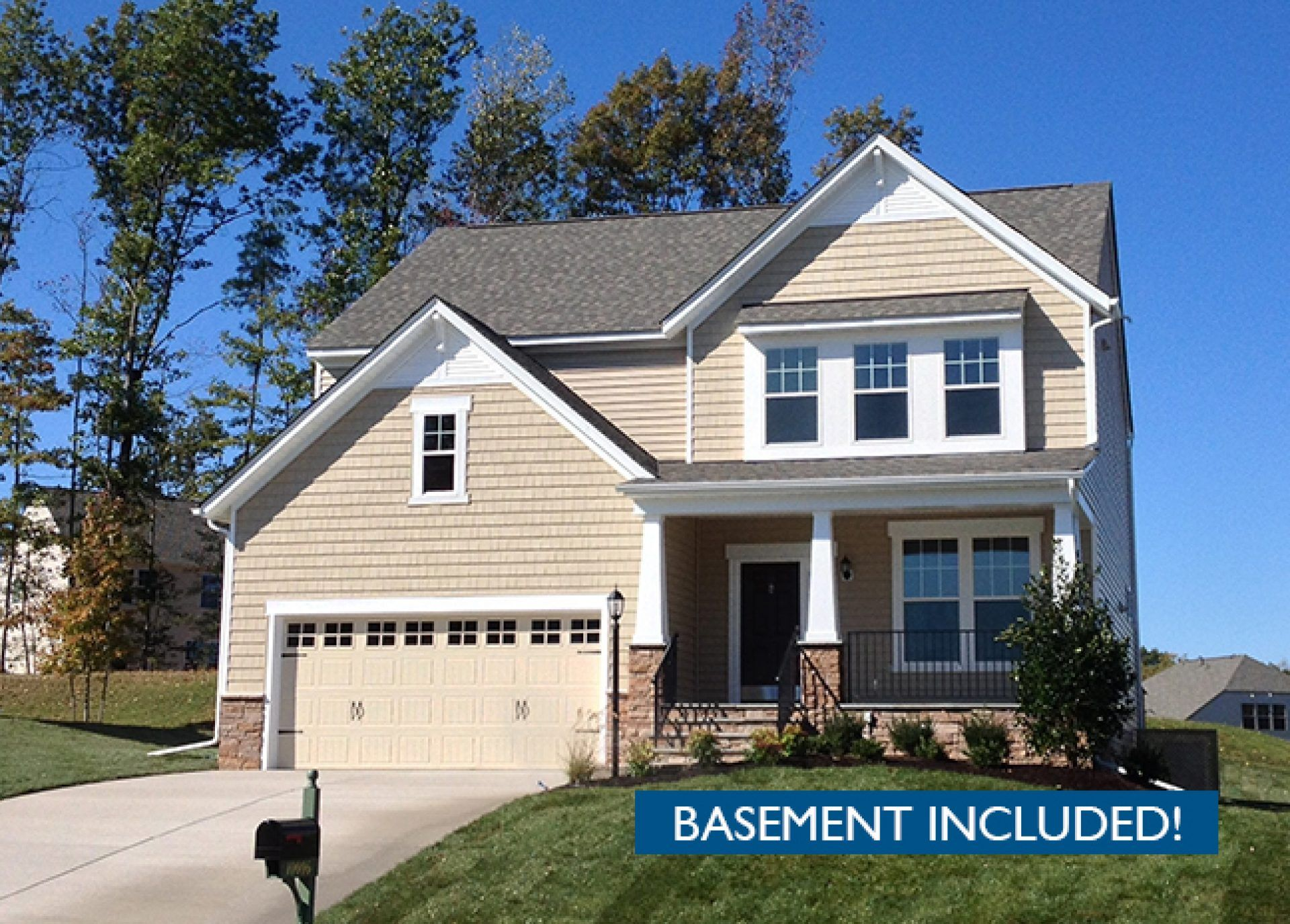 Exterior featured in the Franklin By HHHunt Homes LLC in Richmond-Petersburg, VA