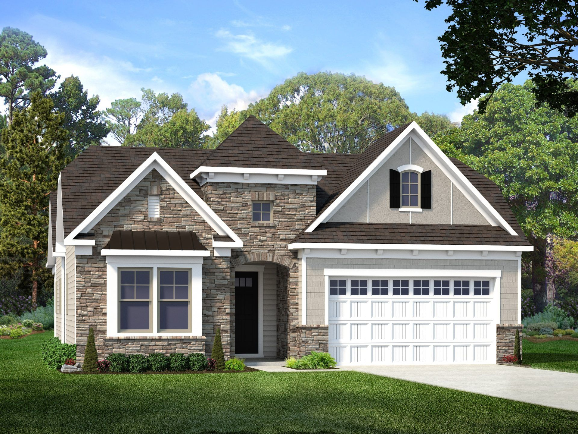 Exterior featured in the Preserve By HHHunt Homes in Raleigh-Durham-Chapel Hill, NC