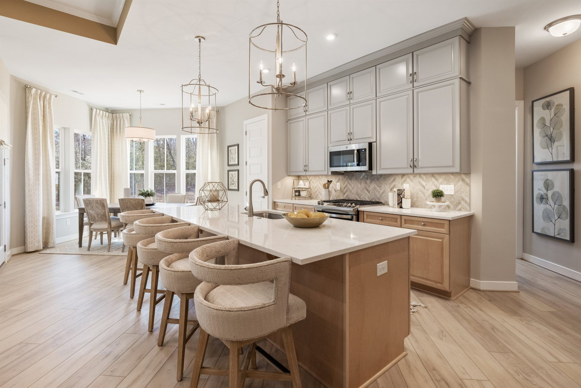 Kitchen featured in the Oasis By HHHunt Homes LLC in Richmond-Petersburg, VA