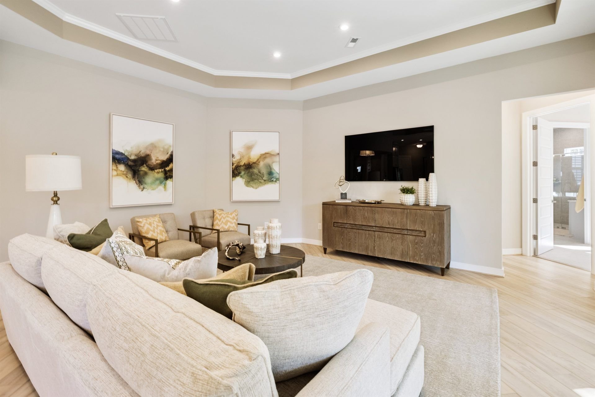 Living Area featured in the Oasis By HHHunt Homes LLC in Richmond-Petersburg, VA