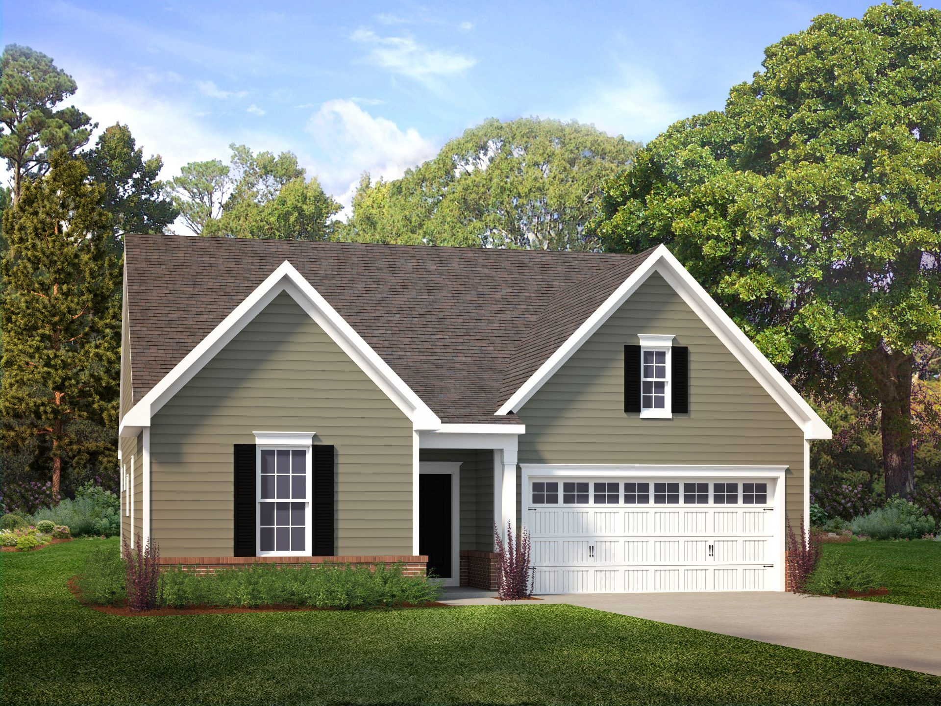 Exterior featured in the Brook By HHHunt Homes LLC in Richmond-Petersburg, VA