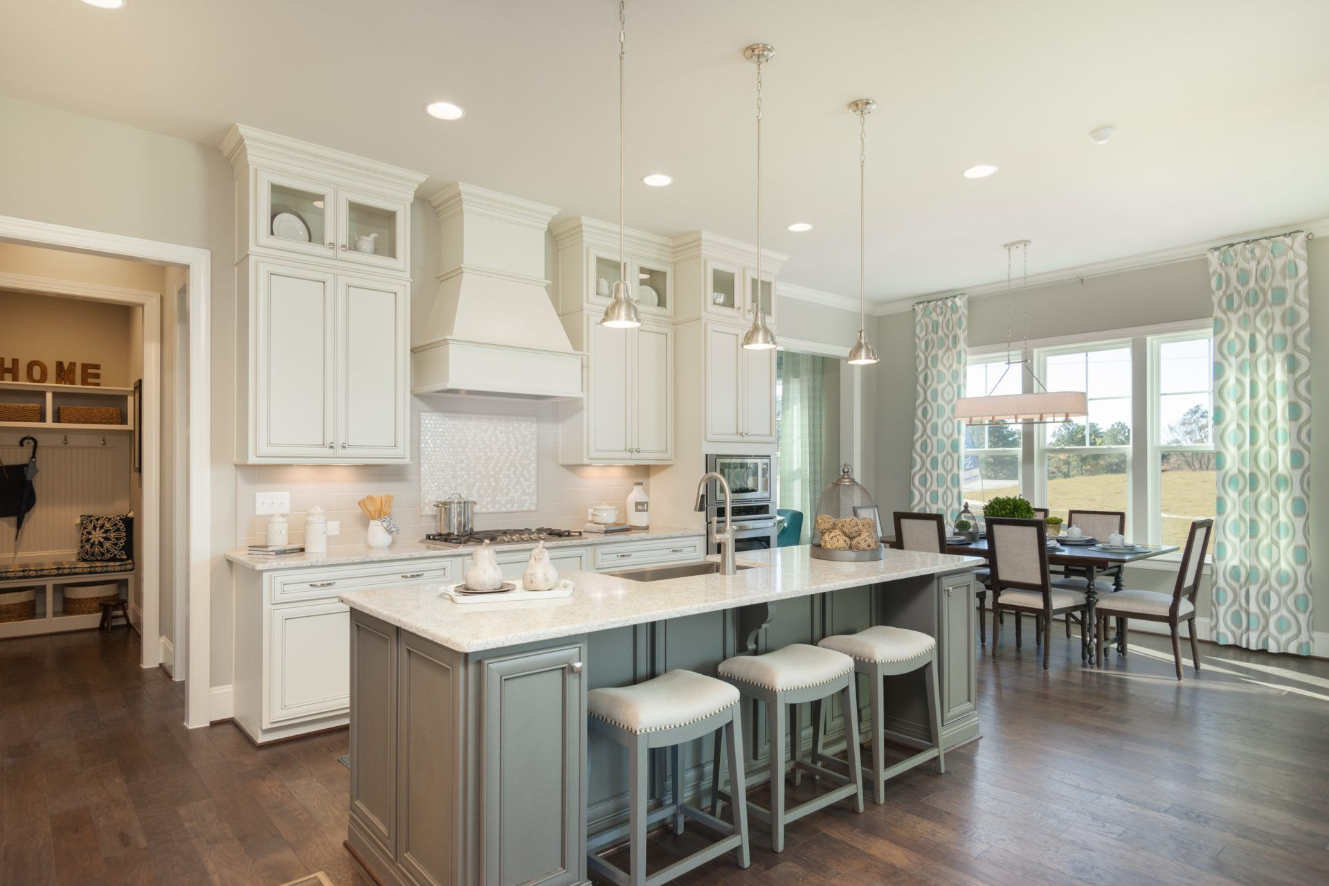 Kitchen featured in the Latham By HHHunt Homes LLC in Raleigh-Durham-Chapel Hill, NC