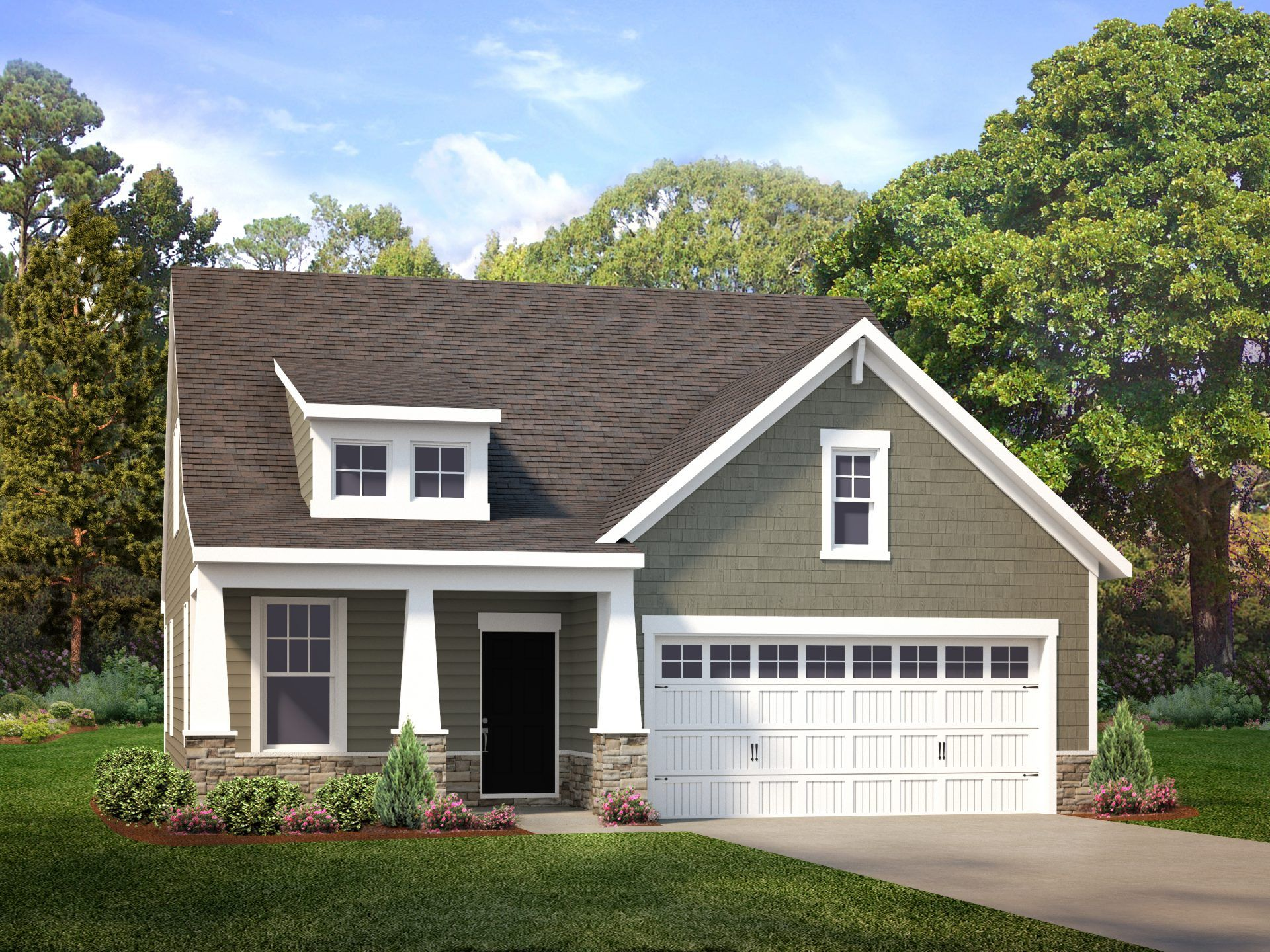 Exterior featured in the Harlow By HHHunt Homes LLC in Richmond-Petersburg, VA