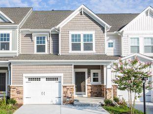 Davenport - Watermark Townhomes: Richmond, Virginia - HHHunt Homes LLC