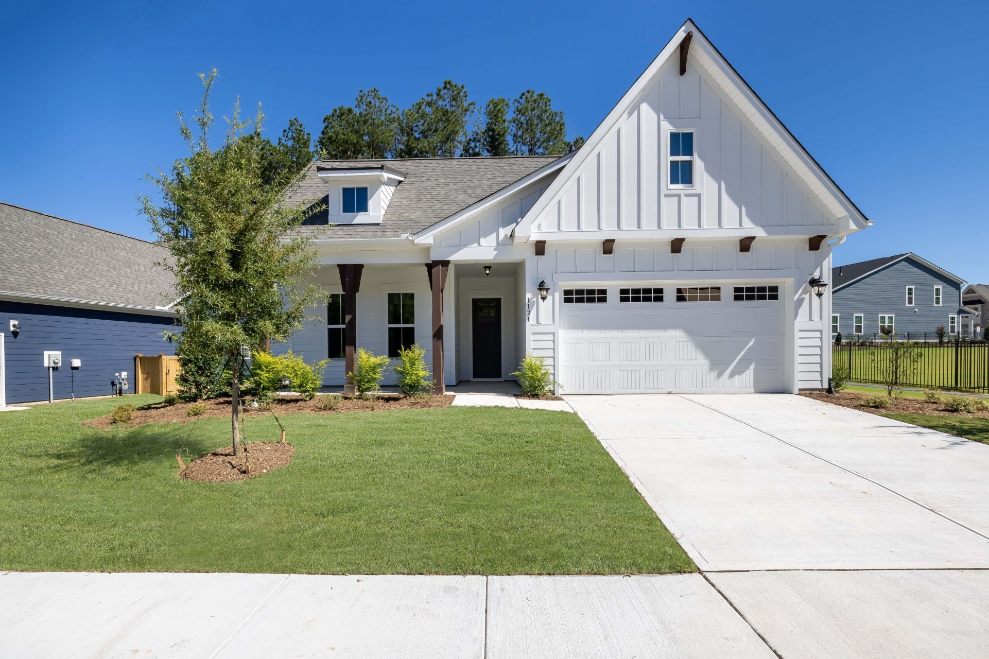Exterior featured in the Retreat By HHHunt Homes in Raleigh-Durham-Chapel Hill, NC