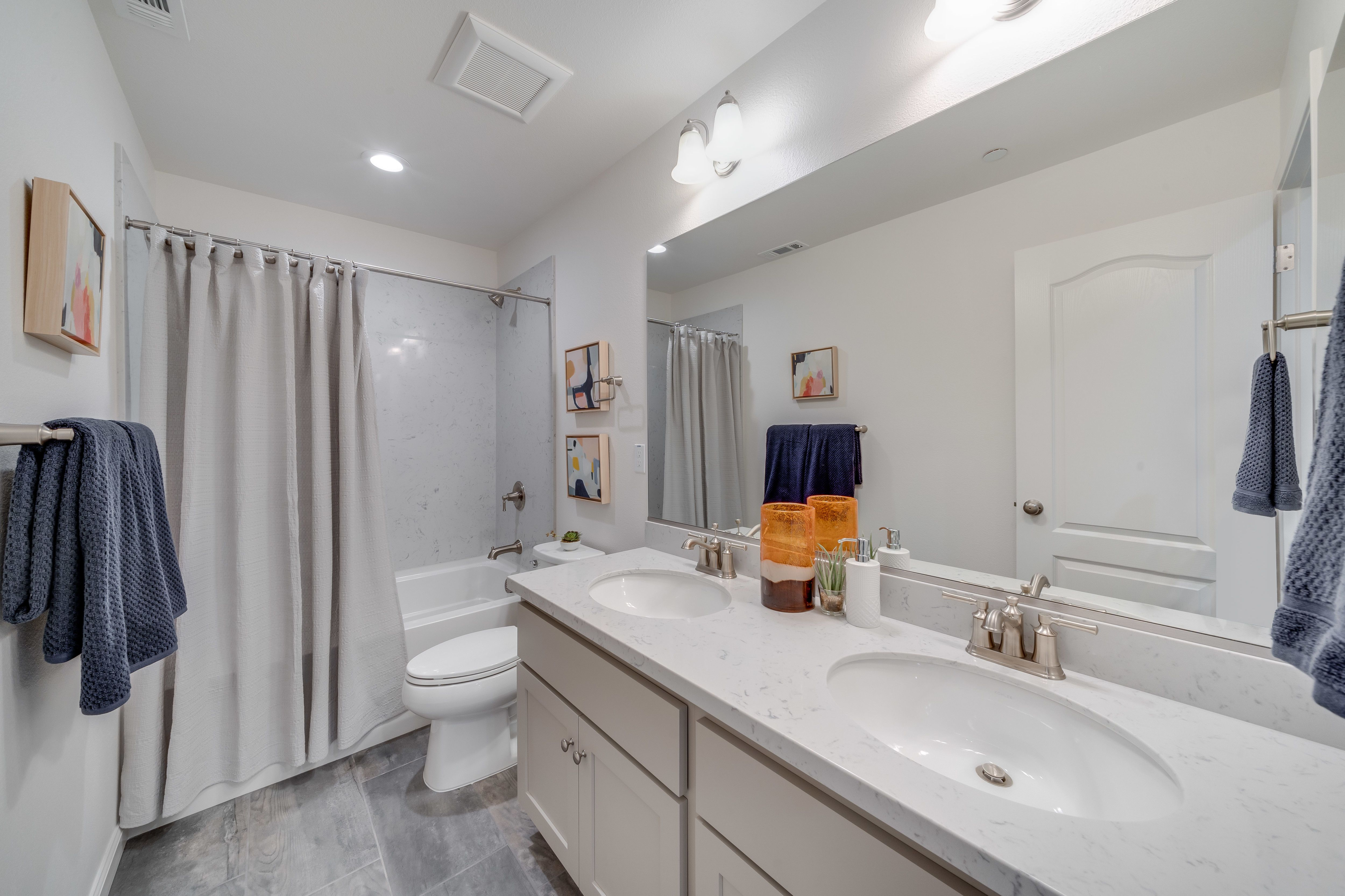 Bathroom featured in the Plan 4D By The Gardens in Santa Rosa, CA