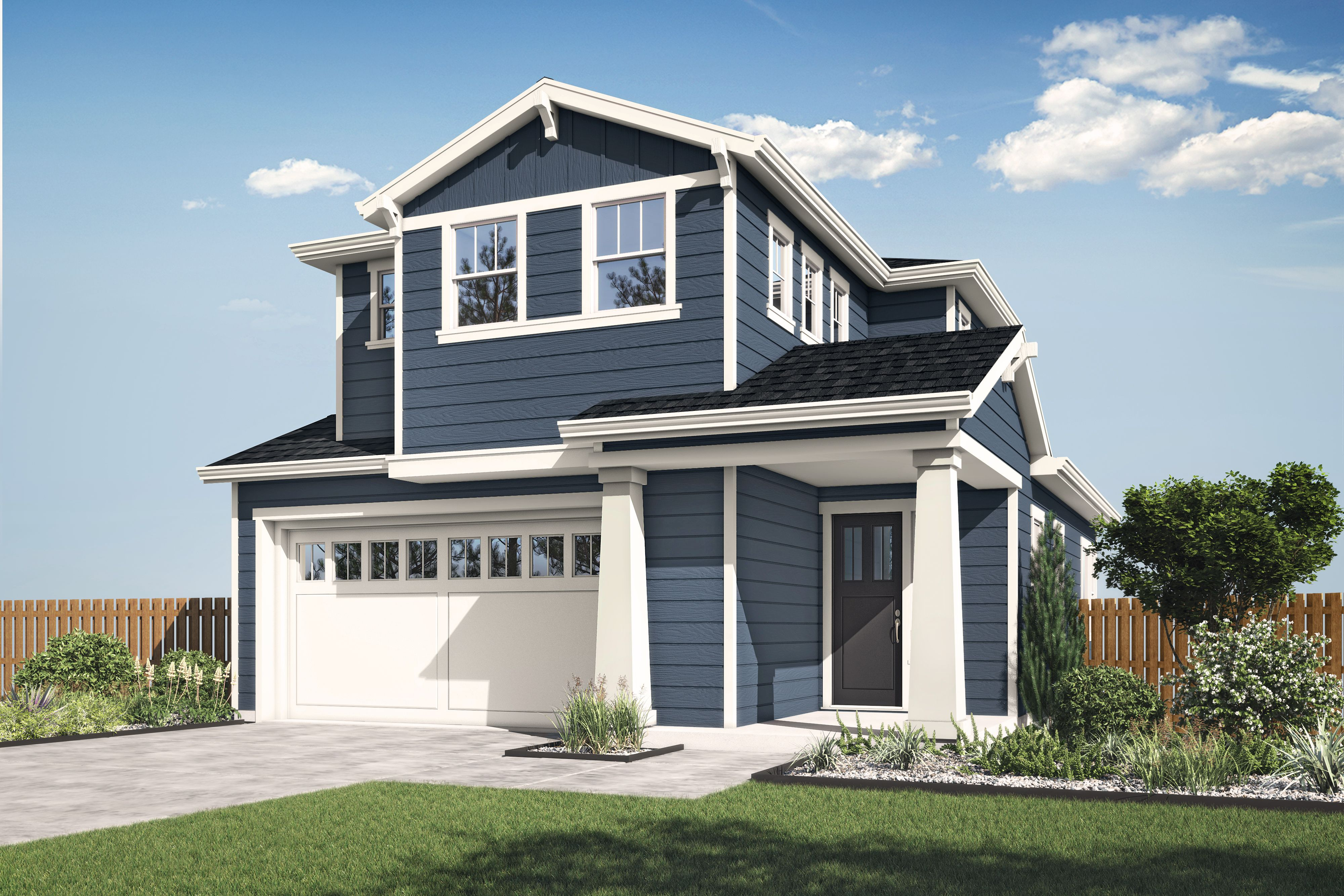Exterior featured in the Plan 3C By The Gardens in Santa Rosa, CA