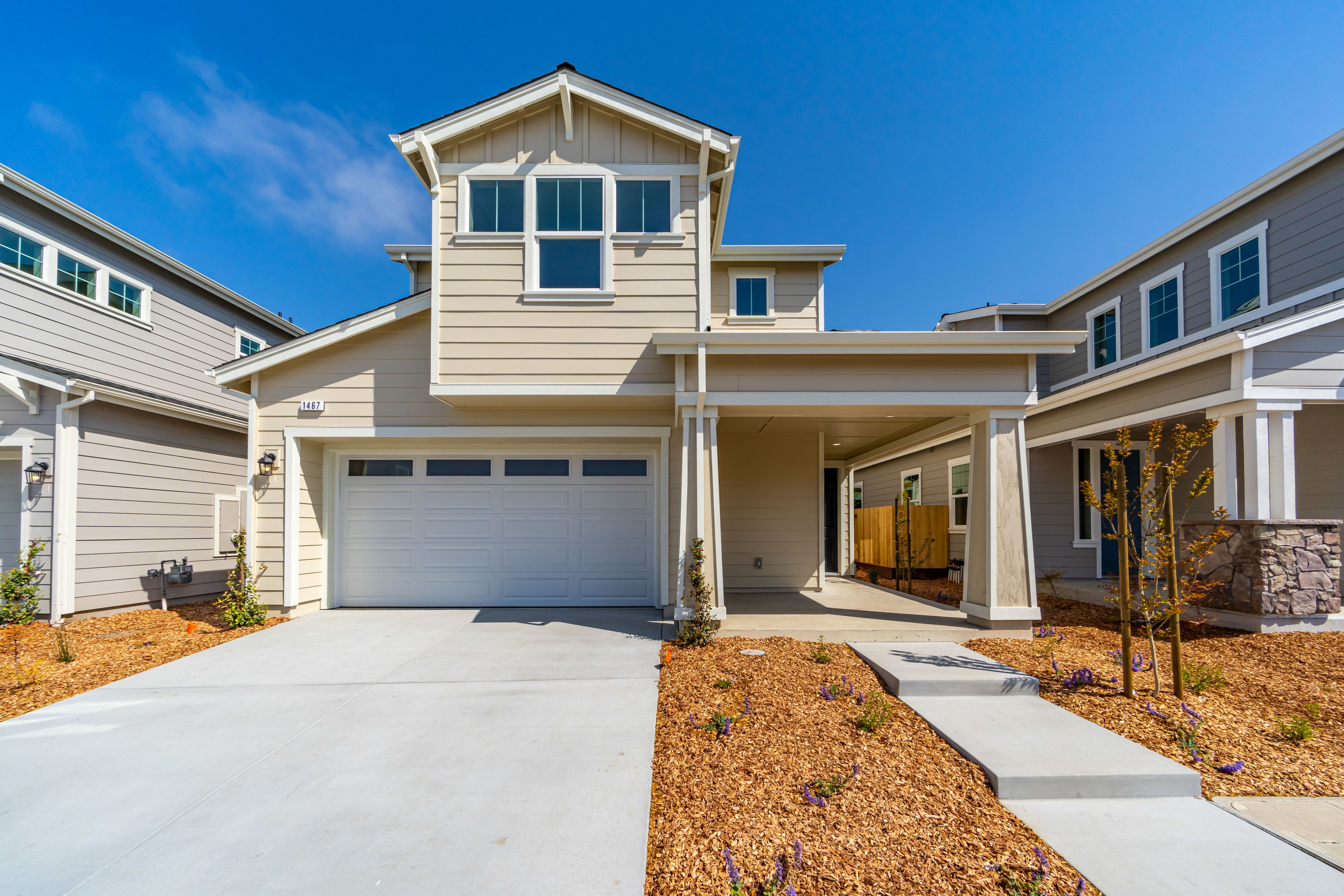Exterior featured in the Plan 1A By The Gardens in Santa Rosa, CA