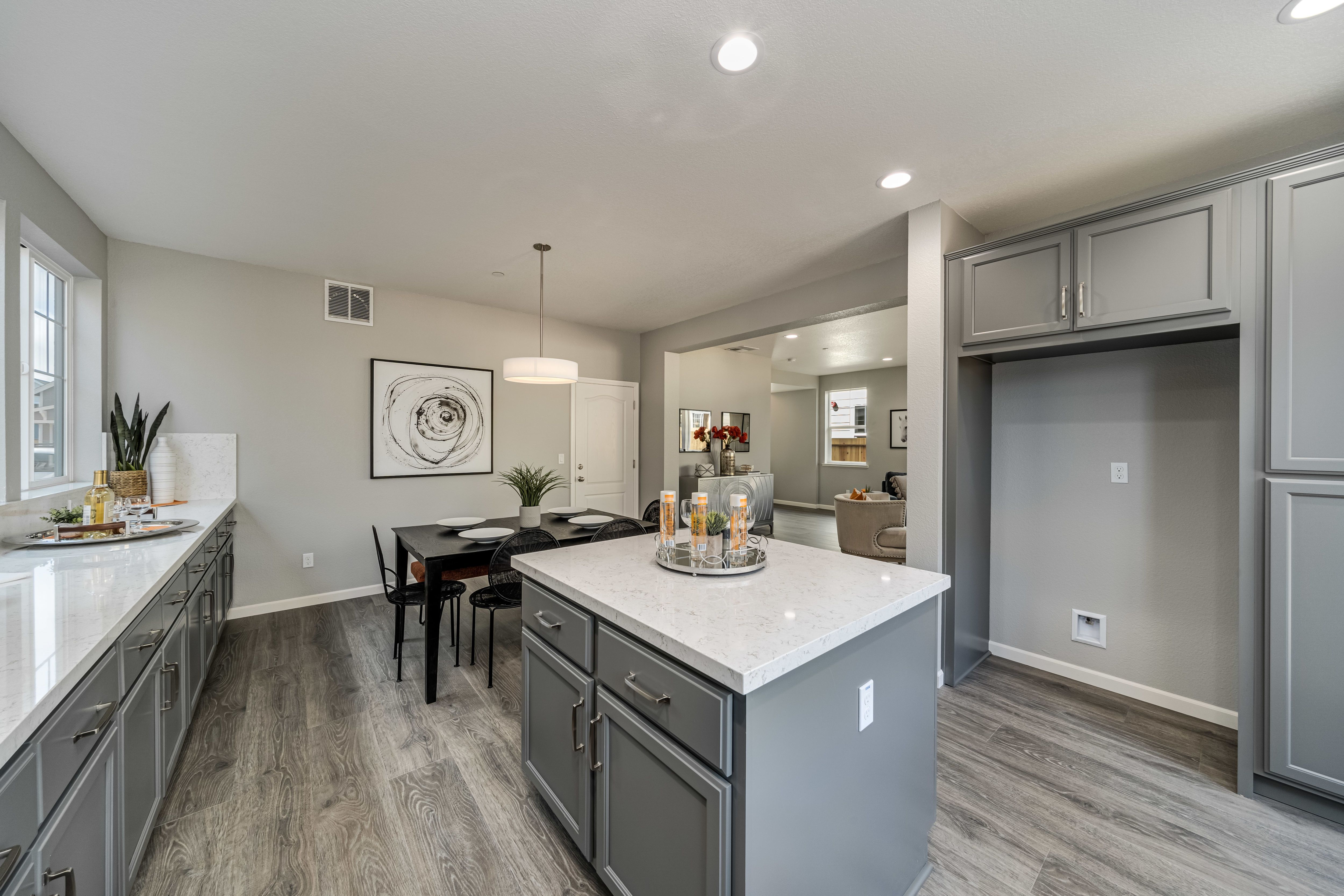 Kitchen featured in the Plan 3C By The Gardens in Santa Rosa, CA
