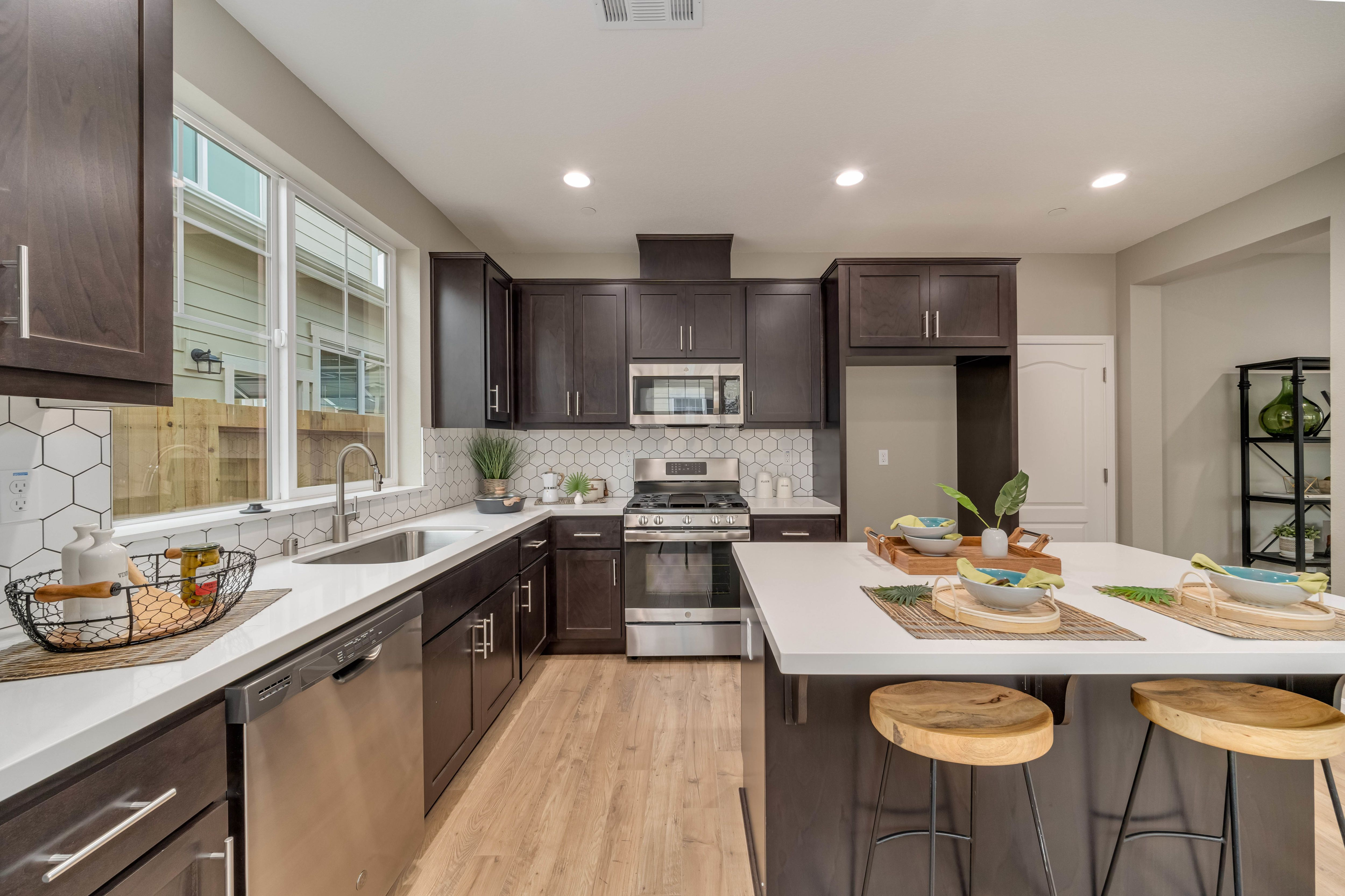 Kitchen featured in the Plan 5E By The Gardens in Santa Rosa, CA