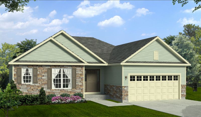 Exterior featured in The Augustine By Halen Homes in Milwaukee-Waukesha, WI