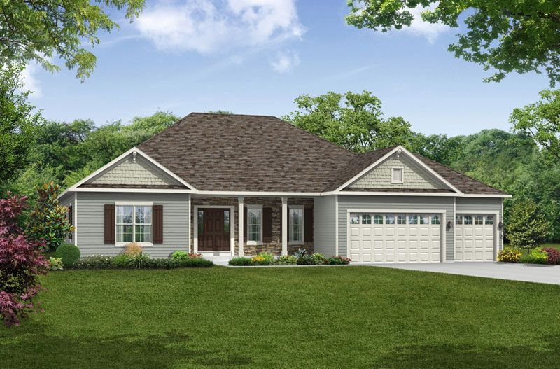 Exterior featured in The Essex By Halen Homes in Milwaukee-Waukesha, WI