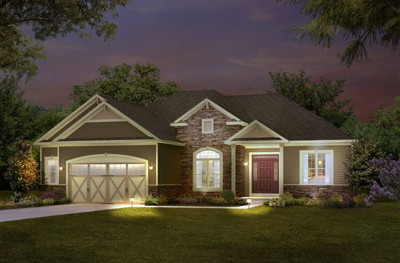 Exterior featured in The Chadsworth By Halen Homes in Milwaukee-Waukesha, WI