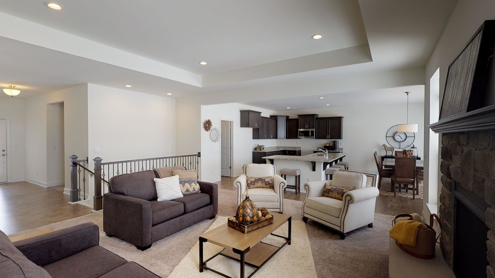 Living Area featured in The Eastwick By Halen Homes in Milwaukee-Waukesha, WI