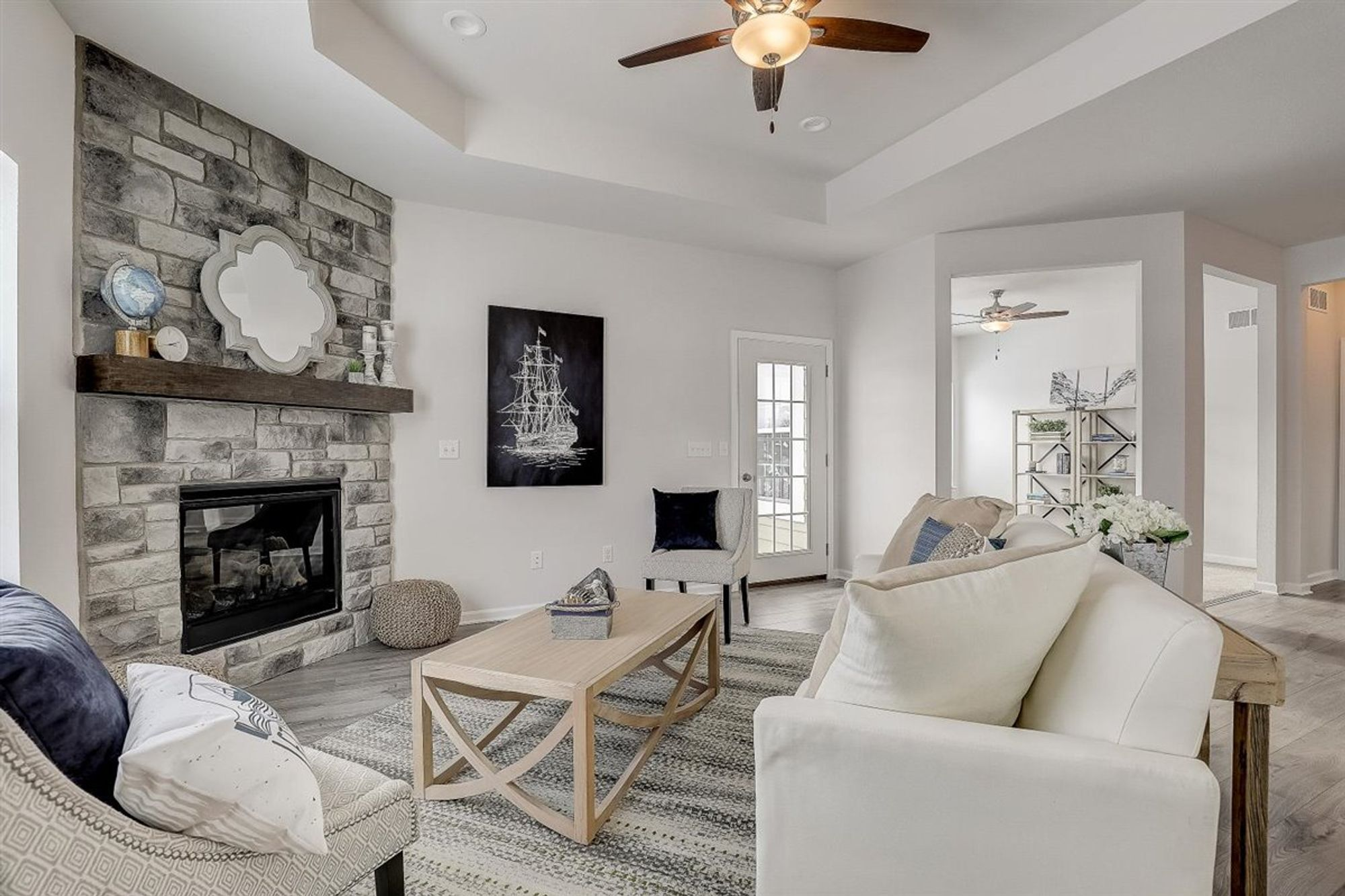 Living Area featured in The Aspen By Halen Homes in Milwaukee-Waukesha, WI