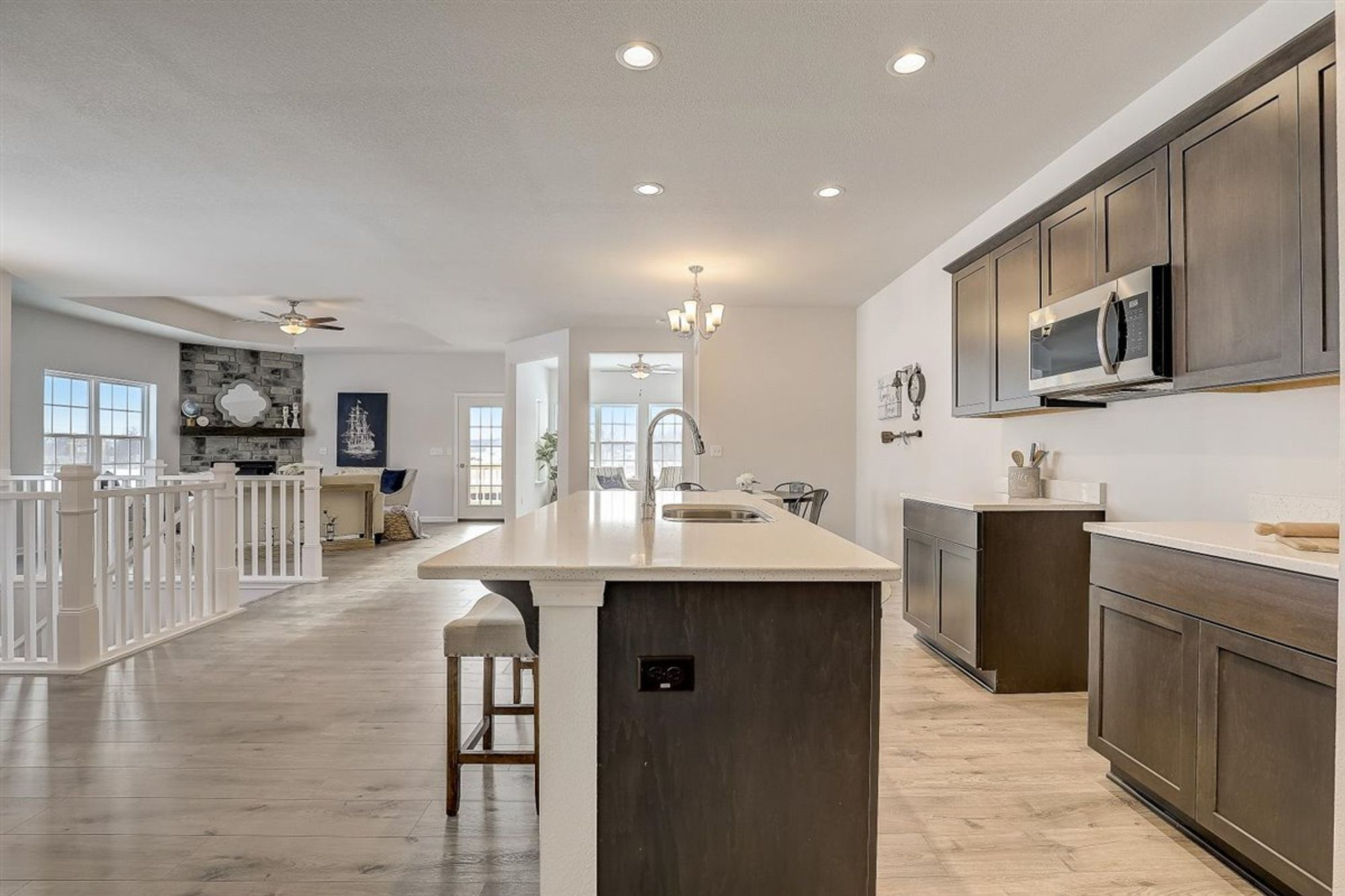 Kitchen featured in The Aspen By Halen Homes in Milwaukee-Waukesha, WI