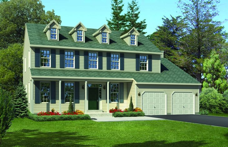 Exterior:The Wilson Farmhouse Floor Plan