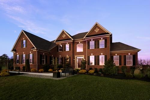 New Homes in Hilltown PA 1443 New Homes – Regency At Hilltown Site Plan