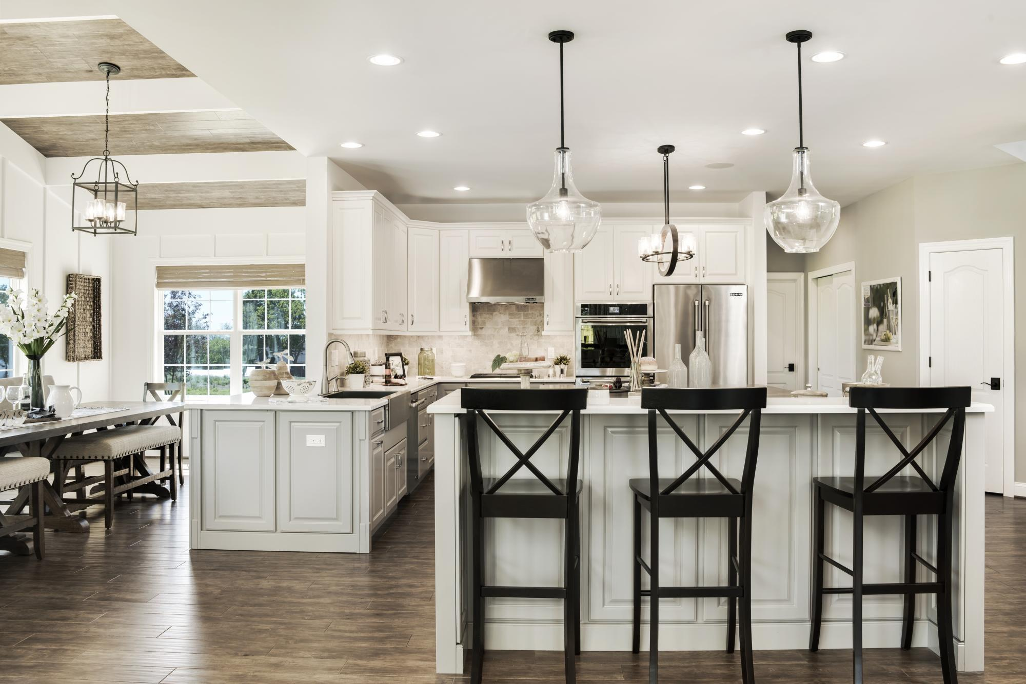 Kitchen-in-The Monroe-at-The Arbors at Hilltown-in-Dallas