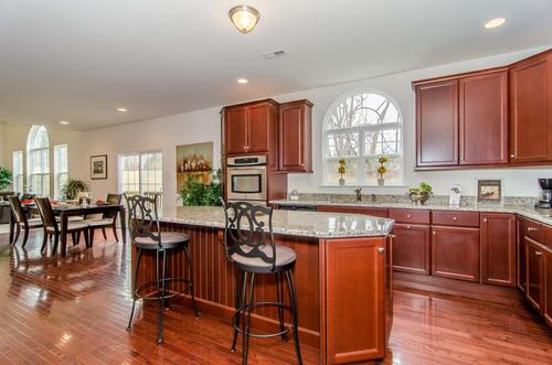 Kitchen-in-The Madison-at-The Arbors at Hilltown-in-Dallas