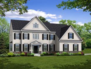 The Monroe - Mill Ridge: Chalfont, Pennsylvania - Hallmark Homes Group