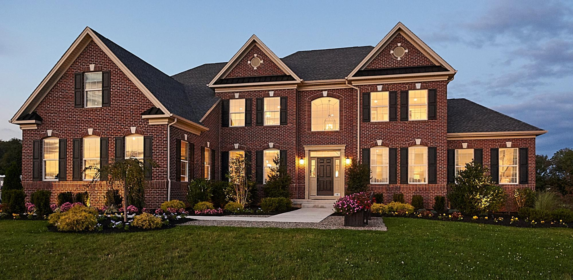 Exterior featured in The Monroe By Hallmark Homes Group in Philadelphia, PA