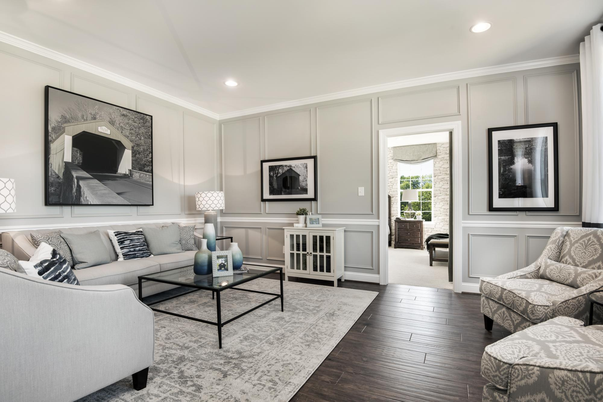 Living Area featured in The Monroe By Hallmark Homes Group in Philadelphia, PA