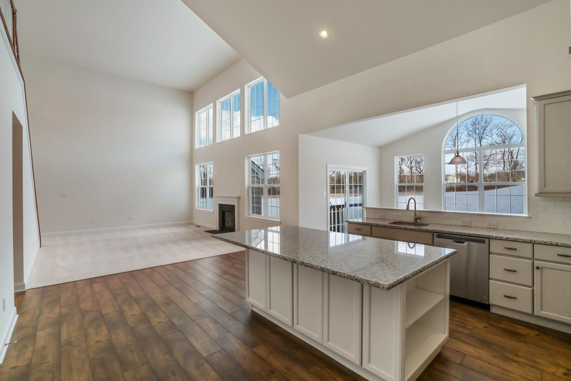 Kitchen featured in The Harrison-Side Entry By Hallmark Homes Group in Philadelphia, PA