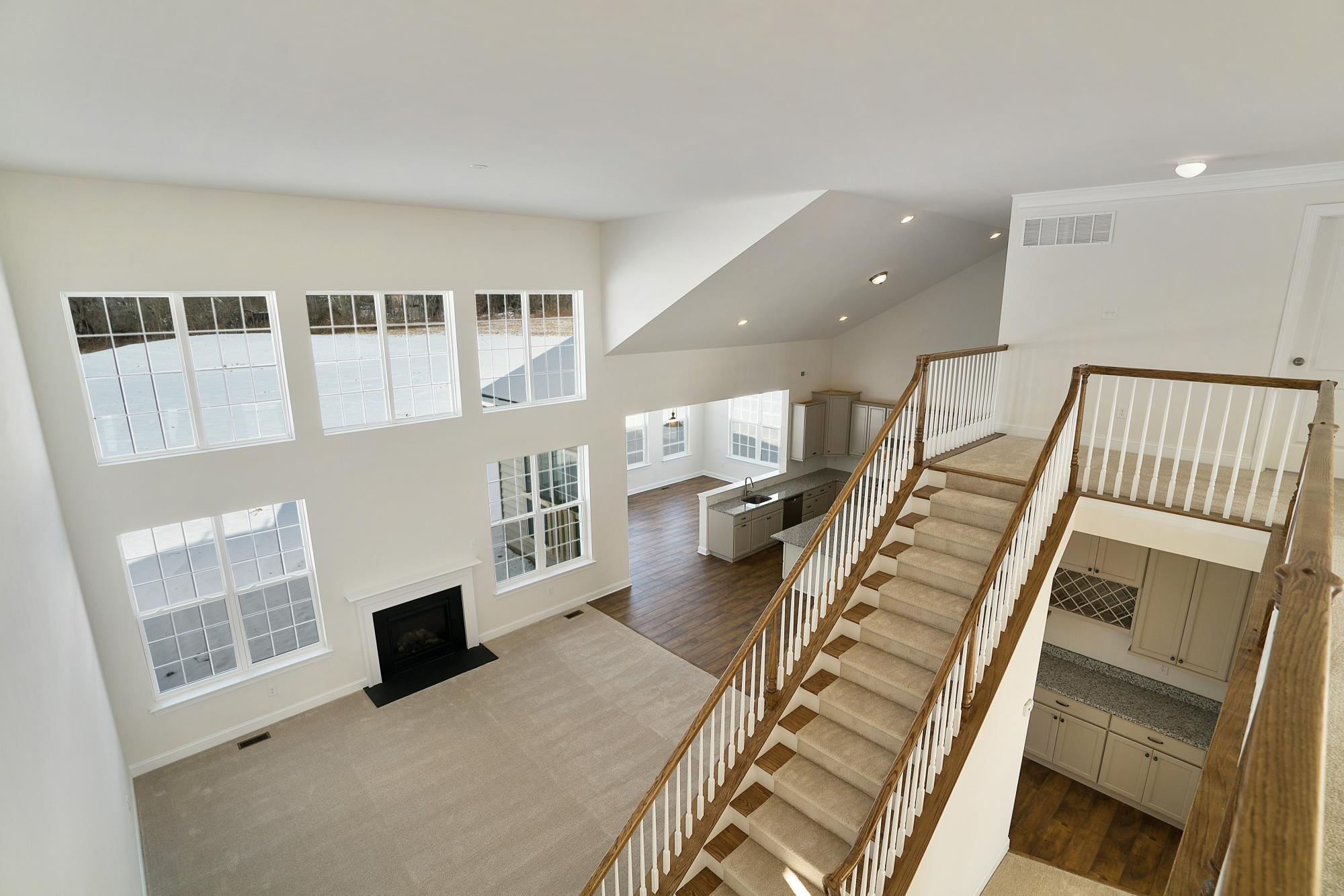 Living Area featured in The Harrison-Side Entry By Hallmark Homes Group in Philadelphia, PA