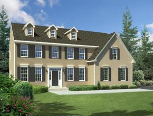 The Jefferson-Side Entry - Mill Ridge: Chalfont, Pennsylvania - Hallmark Homes Group