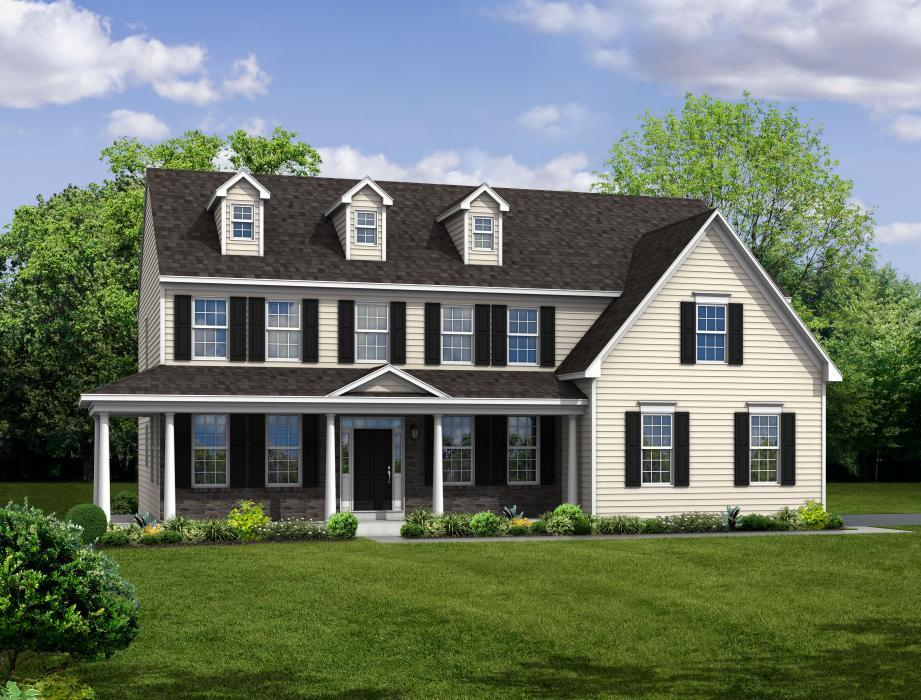 Exterior featured in The Jefferson-Side Entry By Hallmark Homes Group in Philadelphia, PA