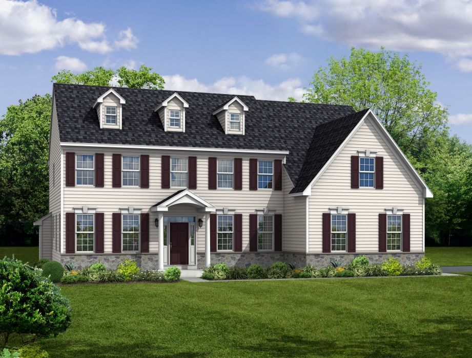 Exterior featured in The Roosevelt-Side Entry By Hallmark Homes Group in Philadelphia, PA