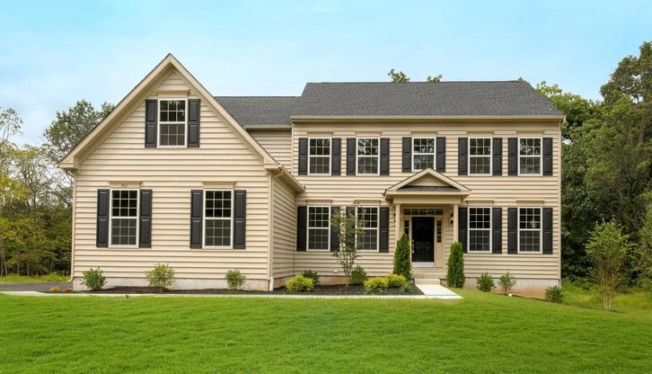 Exterior:Tall Oaks Model Front 2 - RESIZED
