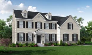 The Jackson-Side Entry - Mill Ridge: Chalfont, Pennsylvania - Hallmark Homes Group