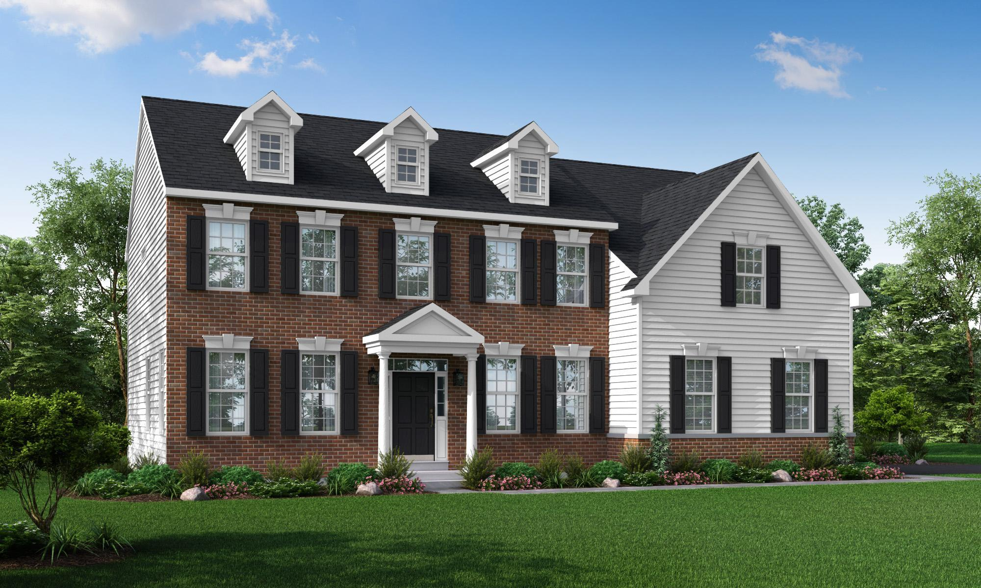 Exterior featured in The Jackson-Side Entry By Hallmark Homes Group in Philadelphia, PA