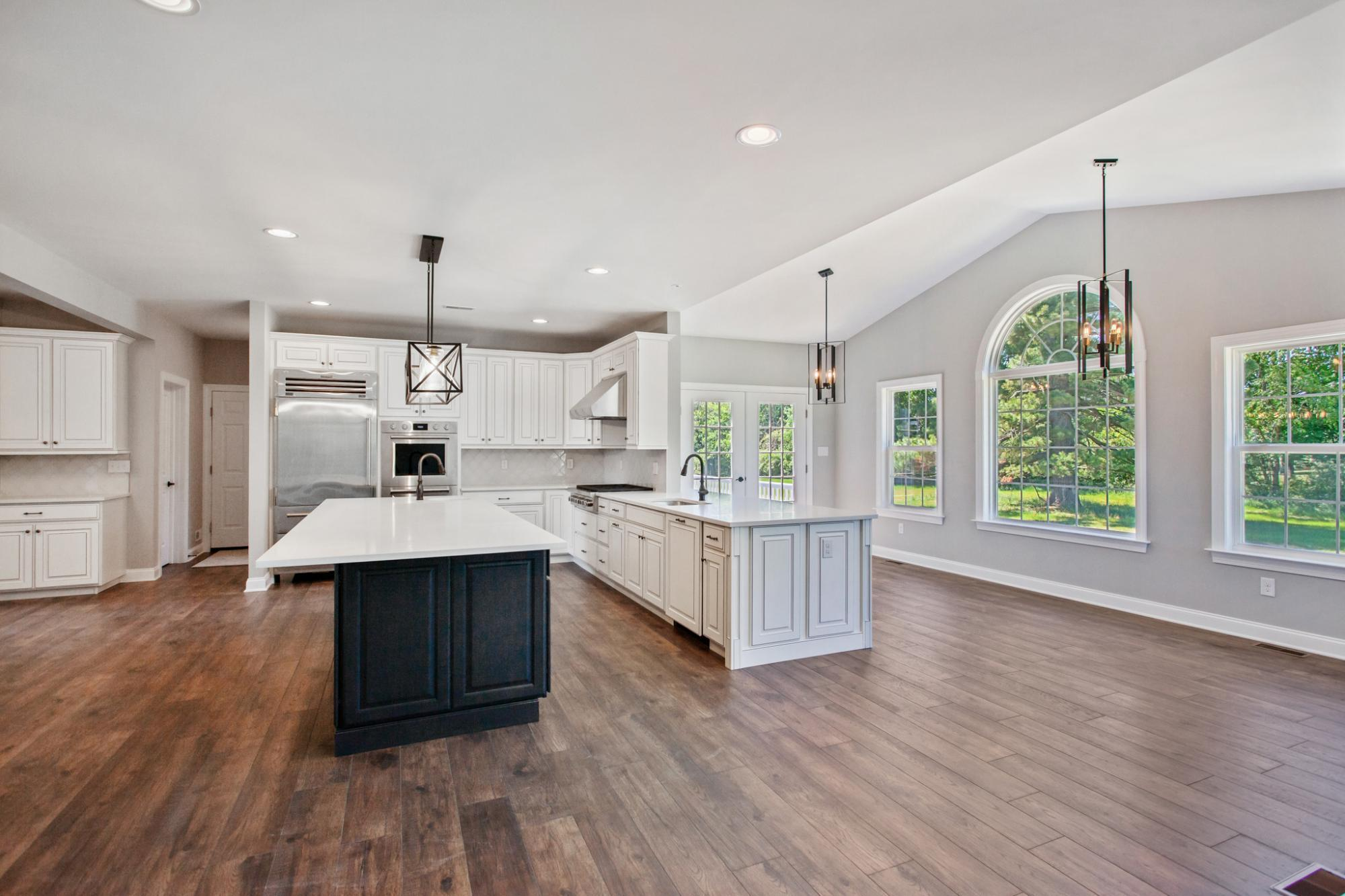 Kitchen featured in The Greenbrier By Hallmark Homes Group in Philadelphia, PA