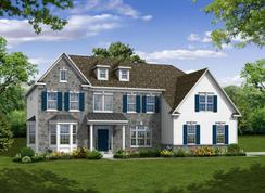 The Monroe - Foxtail Farm: North Wales, Pennsylvania - Hallmark Homes Group