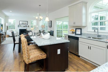 Kitchen-in-The Lincoln-at-The Arbors at Hilltown-in-Dallas