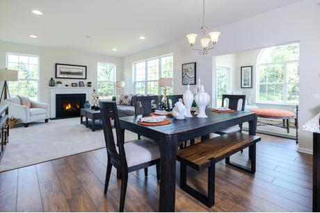 Greatroom-and-Dining-in-The Lincoln-at-The Arbors at Hilltown-in-Dallas