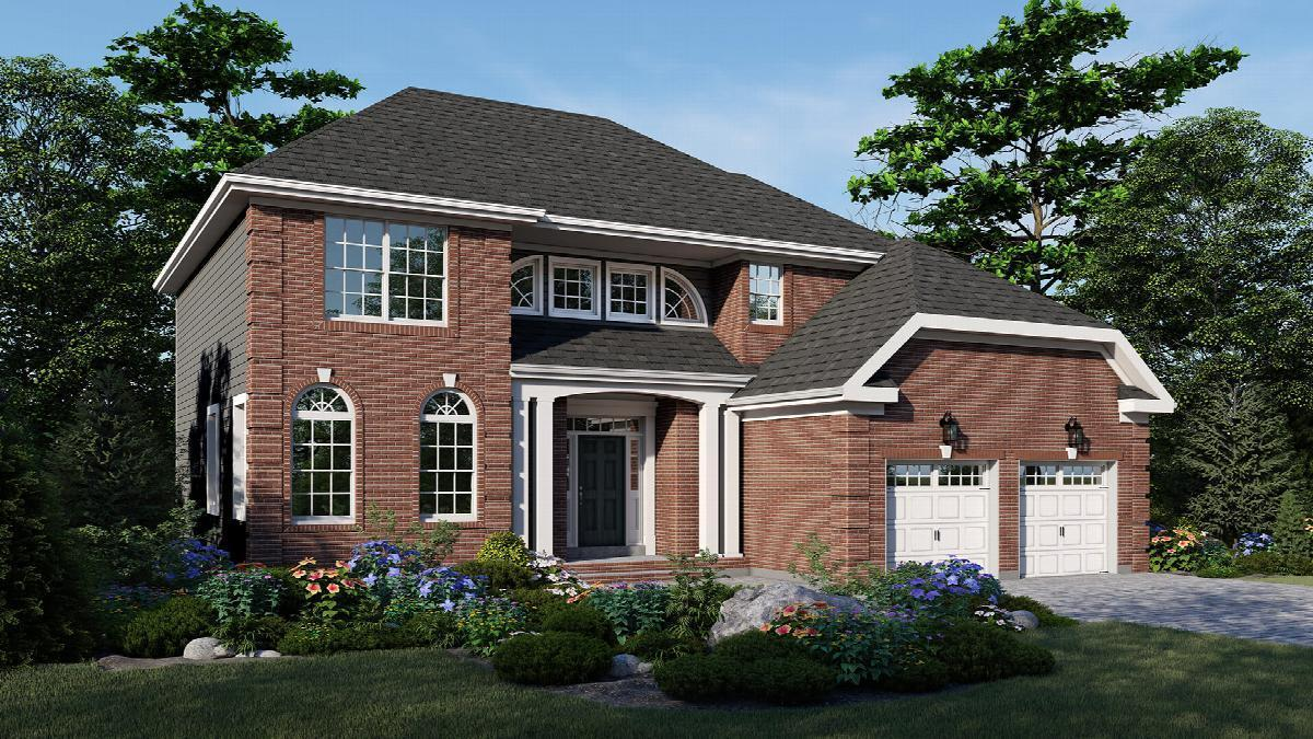 Exterior featured in The Montgomery By Hallmark Homes in Middlesex County, NJ